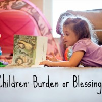 Children: Burden or Blessing?